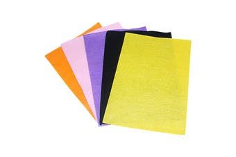 5pce A4 Felt Sheets Assorted Colours Craft Supplies School Projects