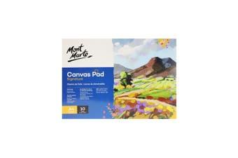 MONT MARTE Canvas Pad 10 Sheet A4