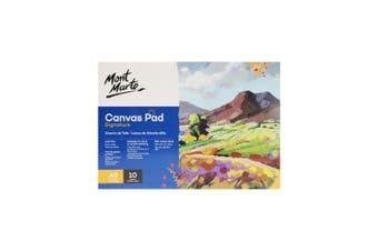 MONT MARTE Canvas Pad 10 Sheet A5