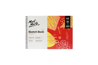 Mont Marte M.M. Discovery Sketch Book A3 30 Sheets 150gsm