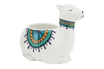 Flower Pot Llama Mix 23.5x15.3x19cm(1/6) [SEMI CIRCLE PRINT]
