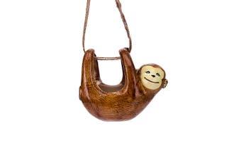 1pce Herb / Flower Pot Hanging Monkey 15x8x13cm