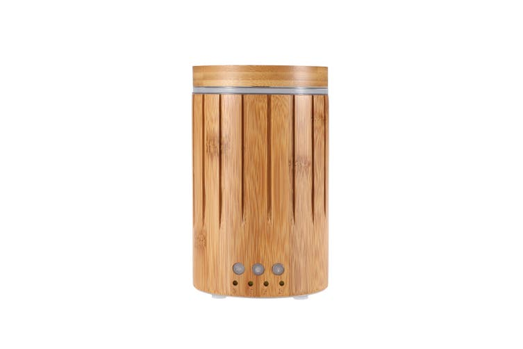 Sherwood Bamboo Ultrasonic Aromatic diffusers PP Bamboo Natural Brown