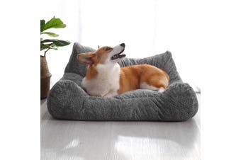 Charlie's Lounger Plush Pet Sofa Seat - Small