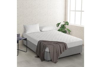 Natural Home Bamboo Mattress Protector Single Bed