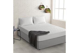 Natural Home Cotton Mattress Protector Single Bed