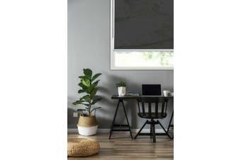 Home Living Mirage Roller Blind 100% Polyester 180x210cm Black