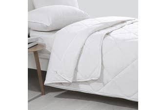 Wooltara Luxury Four Season Two Layer Washable Australian Wool Quilt Queen Bed
