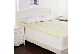 Dreamaker Wool Underlay Super King Bed