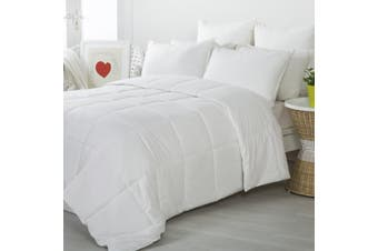 Dreamaker Australian Wool Quilt Super King Bed