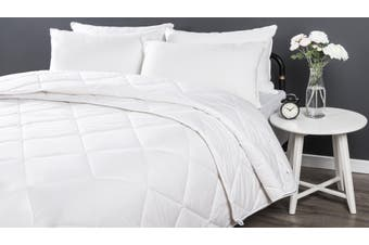 Dreamaker All Season 2 Piece Wool Quilt Super King Bed