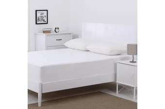 Dreamaker Non Woven Stain Resistant Mattress Protector Single Bed