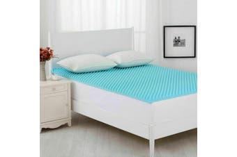 Dreamaker Gel Infused Convoluted Memory Foam Underlay Queen Bed