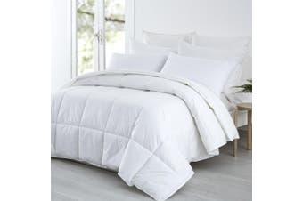 Dreamaker Summer Weight Bamboo & Polyester Blend Quilt Super King Bed