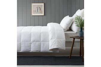 Summer Duck Down Quilt Super King Bed