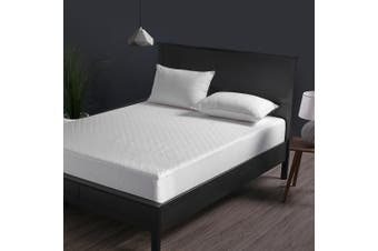 Dreamaker Cotton Quilted Waterproof Mattress Protector Super King Bed