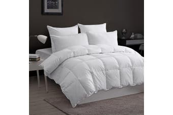Dreamaker 100% Goose Down Fibre Quilt King Bed