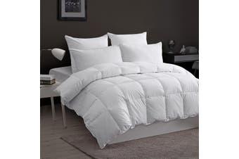 Dreamaker 100% Goose Down Fibre Quilt Super King Bed