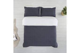 Printed Cotton Sateen Quilt Cover Set King Bed Walker