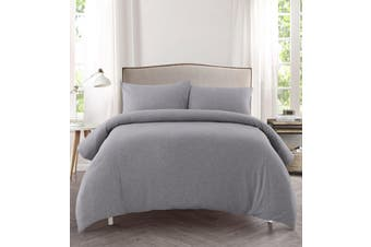 Dreamaker cotton jersey QCS KB marble grey