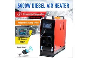 AF-N6 12V 5KW Diesel Car Parking Air Heater All In One LCD 4 Holes