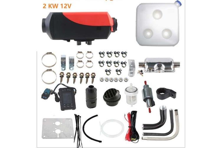 2KW 12V Diesel Air Heater for Caravan Motorhome RV Garage Workshop Indoor Pre Sale,Dispatch from 7/14 - AF-N5-10L-Courier Shipping