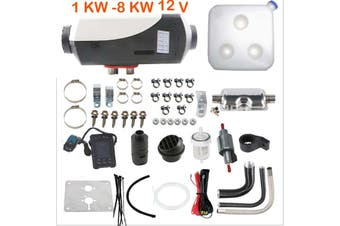 1KW-8KW 12V Diesel Air Heater for Caravan Motorhome RV Garage Workshop Indoor Same day shipping