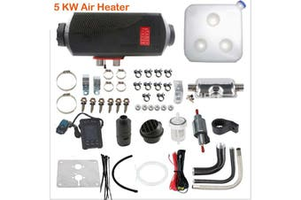 5KW 12V Diesel Air Heater for Caravan Motorhome RV Garage Workshop Indoor Same day shipping