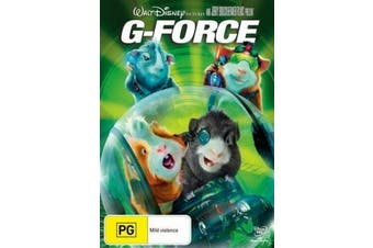 G-FORCE - Walt Disney Pictures -Rare DVD Aus Stock -Kids & Family New