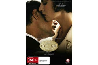 Coco Chanel & Igor Stravinsky (DVD, 2010)-REGION 4-Brand new-Free postage