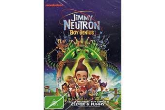 Jimmy Neutron - Boy Genius - Animation / Adventure - Region 4 NEW DVD