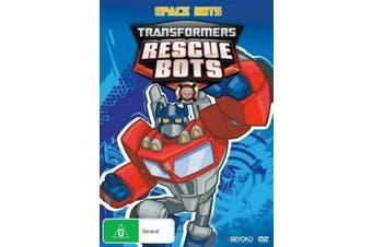Transformers: Rescue Bots - Space Bots -Kids DVD Series Rare Aus Stock New