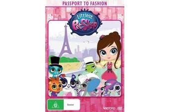 Littlest Pet Shop: Passport to Fashion -Kids DVD Series Rare Aus Stock New