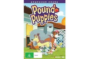 POUND PUPPIES HOMEWARD POUND -Kids DVD Rare Aus Stock New Region 4