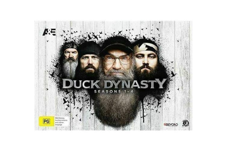 Duck Dynasty : Seasons 1 - 4 Collector's Gift Set (DVD, 2016, 8-Disc Set) NEW