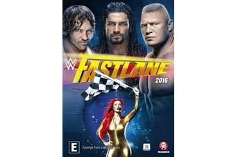 WWE - Fast Lane 2016 (DVD, 2016) Brand New Sealed -Region 1