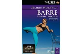 Michelle Merrifield -Barre Fitness Collection DVD Region4 New