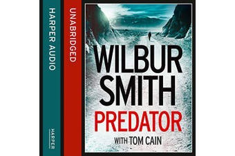 Predator [Audio] -Wilbur Smith,Tom Cain,Ben Onwukwe Fiction Book Aus Stock