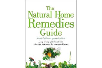 The Natural Home Remedies Guide Health & Wellbeing Book Aus Stock