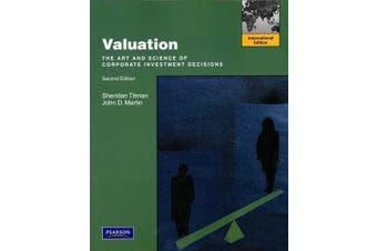Valuation: International Edition - Business Book Aus Stock