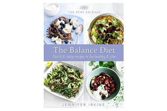 Pure Package the Balance Diet -Jennifer Irvine Cooking Book Aus Stock