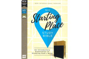 Starting Place NIV Study Bible Religion Book Aus Stock