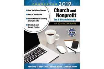 Zondervan 2019 Church and Nonprofit Tax and Financial Guide Religion Book
