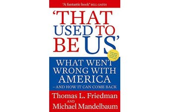 That Used to Be Us Politics Book Aus Stock