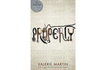 Property -Martin, Valerie Fiction Novel Book Aus Stock