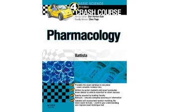 Crash Course: Pharmacology Updated Print + eBook edition (Crash Course)