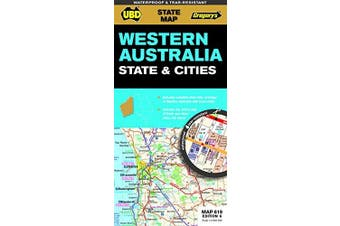 Western Australia State & Cities Map 619 6th ed (waterproof): State Map