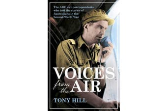 Voices From the Air History Book Aus Stock