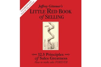 Jeffrey Gitomer's Little Red Book of Selling [Audio] Business Book Aus Stock