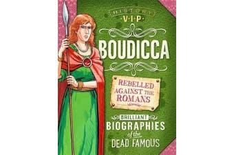 History VIPs: Boudicca (History VIPs) -Paul Harrison History Book Aus Stock